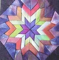 """Piece of Cake"" Folded Star Quilt « Moda Bake Shop"