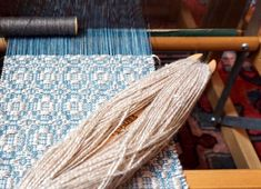 In the Studio with Sarah Eller How To Make Scarf, Silk Road, Weaving Patterns, Hand Weaving, Fiber, Projects, Inspiration, Log Projects
