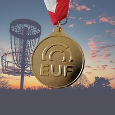 @ultimatepromotions posted to Instagram: EUF stands for European Ultimate Federation. They also govern Disc Golf. This simple #goldmedal design features sandblasting and no #enamel     #sportsawards #custommedals #discgolf #ultimatefrisbee #ultimatefrisbeetournament Sports Medals, Sports Awards, Ultimate Frisbee, Disc Golf, Enamel, Simple, Instagram, Design, Vitreous Enamel