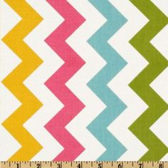 This will be my easter projects :)  Amazon.com: 44'' Wide Riley Blake Chevron Medium Pink/Girl Fabric By The Yard: Arts, Crafts & Sewing