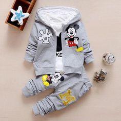 Minnie/Mickey cartoon clothing set