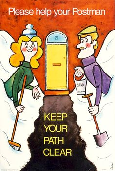Keep your path clear.