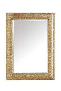 Gold Mosaic Mirror $99.98 Pier 1 Import