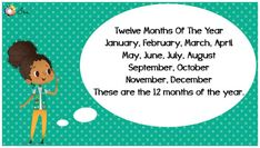 Months of the Year Rhymes for Kids - Ira Parenting List Of Months, Months In A Year, Rhymes Lyrics, April March, Rhymes For Kids, Thing 1 Thing 2, Parenting, English, Rhymes For Children