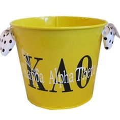 Kappa Alpha Theta Sorority Bucket