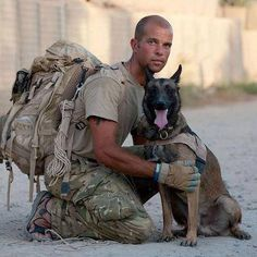 K9 Commando Page Liked · August 21 ·      Sargent Moir & his partner/ MWD 'ESPEN'
