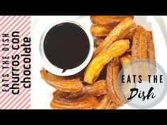 Churros is a simple choux pastry that is fried to golden perfect. Made with simple ingredients that are surely a kitchen staple, you can whip a choux instant. Chocolate Dishes, Chocolate Churros, Easy Churros Recipe, Choux Pastry, Shrimp Tacos, Recipe Please, The Dish, Make It Simple, Easy Meals