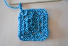 Granny square how to