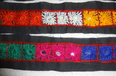 Indian Kutch Embroidery Mirror Lace/Trim  2 by uDazzleSupplies,