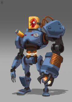 ArtStation - Robot pack_final, Alexander Trufanov