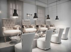 The chairs ❤️❤️❤️ Find Out Best Beauty Salon and Spa Direction In USA http://www.smallmap.com/businessitems/index/category/1/categoryname/beauty-wellness/subcategory/4/subcategoryname/salons