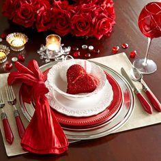 Valentine tablescape....... Pier1 Imports