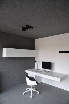 minimalistic interior design, office, chair, MDF Italia, light, Kreon, Foscarini