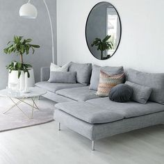 best and most stylish Scandinavian living room design .- besten und stilvollsten skandinavischen Wohnzimmer Designs Ideen best and most stylish Scandinavian living room designs ideas # BEST - Living Room Grey, Living Room Chairs, Living Room Interior, Home Living Room, Apartment Living, Living Room Furniture, Living Room Designs, Living Area, Mirrors For Living Room