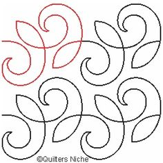 Curls cents per square inch Quilting Stitch Patterns, Hand Quilting Designs, Machine Quilting Patterns, Quilting Stencils, Quilting Templates, Quilting Room, Quilt Stitching, Longarm Quilting, Free Motion Quilting