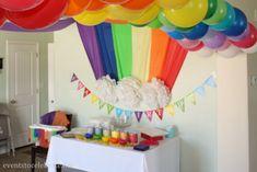 Rainbow Themed Party | eventstocelebrate.net