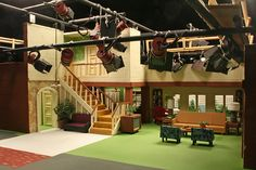"""The set of """"Bewitched"""" in miniature...lol"""