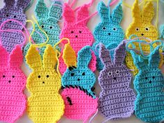 Marshmallow Bunny Motif Or Scarf By CopperScaleDrago - Free Crochet Pattern - (ravelry)
