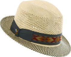 Santana Men's Two Tone Vented Panama Hat Mens Sun Hats, Hats For Men, Straw Fedora, Fedora Hat, Mens Dress Hats, Dope Hats, Summer Outfits Men, Bag Clips, Caps For Women