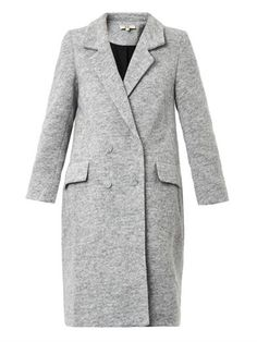 Currently obsessing over the perfect grey coat from Rika... p.s it's 60% off  #rikacoat #matchesfashion.com #greycoat