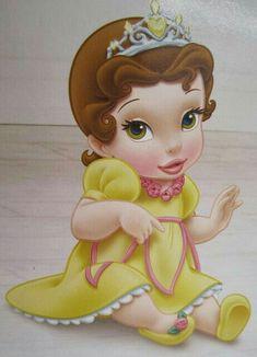 DISNEY Princess BELLE as a Baby.