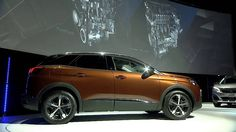 Press Conference   New SUV Peugeot 3008  3:25~