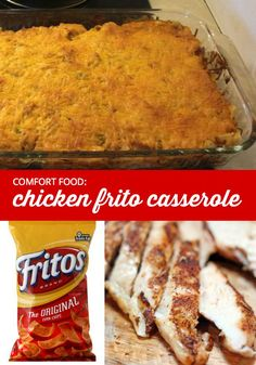 Chicken Frito Casserole | It's fall — time for comfort food! Here's a recipe for a delicious but messy-looking meal called Chicken Frito Casserole. Guaranteed to please everyone in your family.