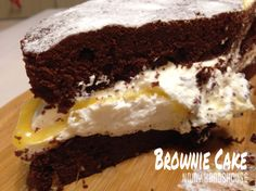 Chocolate Brownie Cake Chocolate Brownie Cake, Desserts, Food, Meal, Deserts, Essen, Hoods, Dessert, Postres