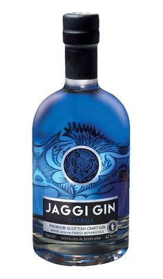 Jaggi Gin - The Gin Cooperative Scottish Gin, Gin Lovers, Milk Thistle, Gin And Tonic, Distillery, Whisky, Vodka Bottle, Liquor, Herbalism
