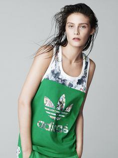 Get Sporty: Topshop x Adidas Originals to Launch Collaboration: We all keep talking about how sneakers are trendy and sweatpants are seriously stylish, and Topshop is doing us a serious solid by partnering with Adidas Originals on a new collection that brings in bespoke, London-inspired prints to really cute tops, bottoms, and, of course, footwear.