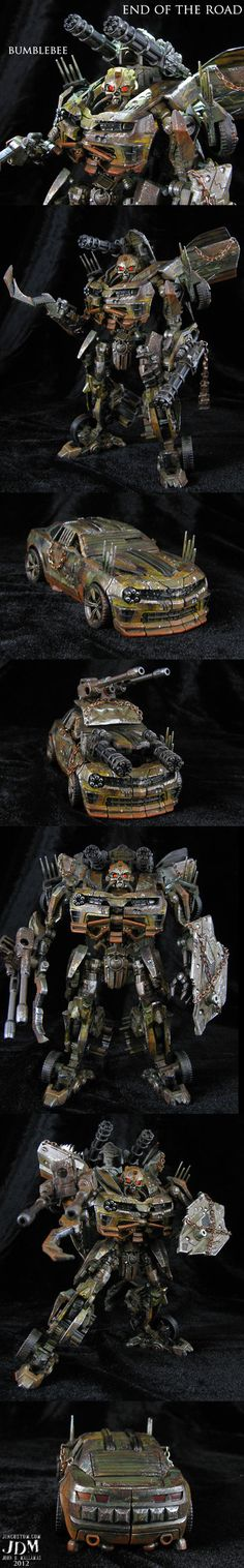 End of the Road custom Bumblebee - Transformers - John Mallamas