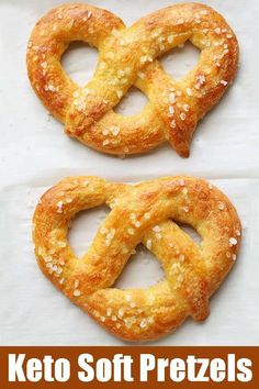 Tasty keto soft pretzels are made with modified Fathead dough. They are flavorful, chewy, and make a great low carb snack. Tasty keto soft pretzels are made with modified Fathead dough. They are flavorful, chewy, and make a great low carb snack. Desserts Keto, Keto Snacks, Ketogenic Recipes, Low Carb Recipes, Ketogenic Diet, Pain Keto, Cena Keto, Comida Keto, Starting Keto Diet