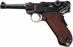 Excellent DWM Model 1920 Swiss Commercial Luger Pistol