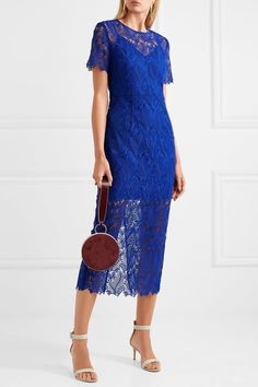 Diane von Furstenberg | Guipure lace midi dress | NET-A-PORTER.COM