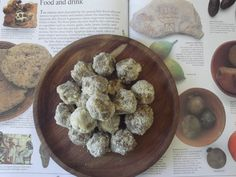 All I can say is YUM! :) Today we feasted like Ancient Egyptians… well as close to it as we could muster :) On the menu: Morning Tea/Afternoon Tea: Dried Figs, Date & Almond Balls Dinner… Mystery Party Food, Ancient Egyptian Food, Ancient Recipes, Egyptian Recipes, Egyptian Party, Egypt Crafts, World Thinking Day, Bacon Salad, Honey Almonds
