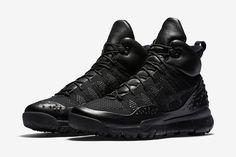 best service 6683b 64ce0 Nike ACG Lunipek Flyknit 1 Nike Acg, Sneaker Magazine, Triple Black, Adidas  Shoes