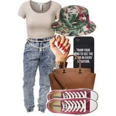 A fashion look from July 2014 featuring J.TOMSON tops, Bullhead Denim Co. and Converse sneakers. Browse and shop related looks.
