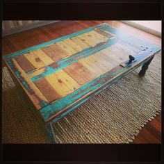 Upcycled Door Table