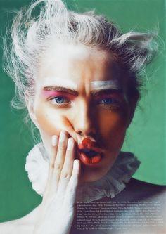 Editorial Makeup {Astrid Eika by Sune Czajkowski for Elle Beauty}