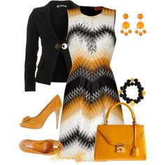"""Missoni Dress"" by bren-g on Polyvore"