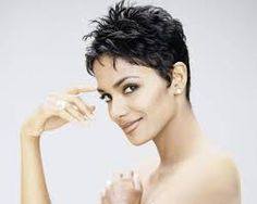 Afbeeldingsresultaat voor short spiky hairstyles for women