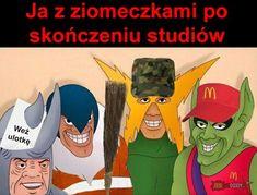 Studia Polish Memes, I Love Anime, Reaction Pictures, Cos, Potato, Funny Stuff, Marvel, Humor, Live