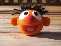 I knew it was possible to needle felt little muppet-style characters