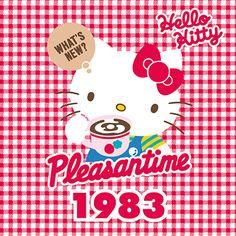 Hello kitty through the years 1983