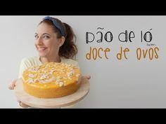 Bolo de Aniversário: Pão-de-ló com Doce de Ovos - YouTube