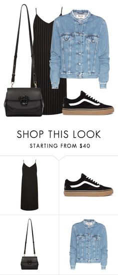 """""""Untitled #3798"""" by ericacavaco12 ❤ liked on Polyvore featuring River Island, Versace and Acne Studios"""