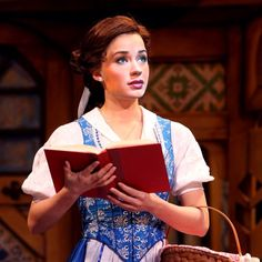Sierra as Belle in Beauty and the Beast