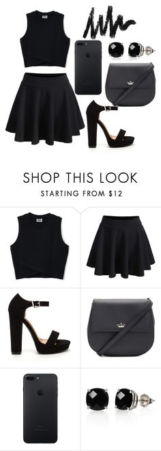 """Untitled #19"" by katrina-anna ❤ liked on Polyvore featuring WithChic, Kate Spade and Belk & Co."
