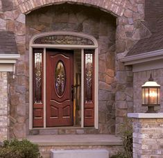 front entrance doors with glass design | ... exterior doors that can be used in your home one of which exterior