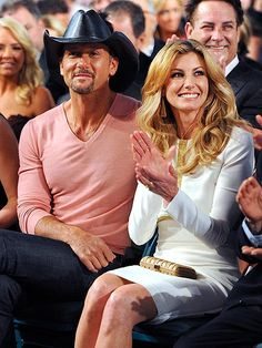 Tim McGraw and Faith Hill. True marriage. The rest of the world should look up to them.